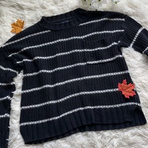 American Eagle Chunky Thick Knit Sweater Top Shirt